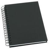 Notatbok Grieg Design spiral A5 linjert svart
