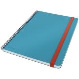 Leitz Cosy notatbok linjer spiral Blå