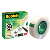 Dokumenttejp Scotch 810, 33m x 19 mm 5 st
