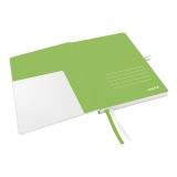 Notesbog Leitz A5 hvid 96g 80 bl. kvadrat
