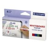 MARVY Whiteboard Marker vino 4 väriä/pak
