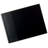 Kirjoitusalusta taskulla 53x40 cm, musta