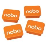 Magneter Whiteboard Nobo Orange (4 st)