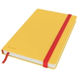 Leitz Cosy notesbog M linjeret  Gul