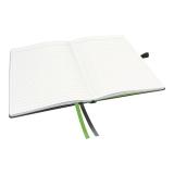 Notesbog Leitz A5 linjeret sort