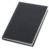 Notesbog Linne indbunden A4 linj. 90g 96bl