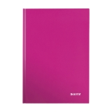 Notesbog Leitz Wow A5 linjeret lyserød