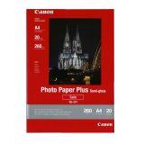 Fotopapper Semigloss A4 20 ark 260g