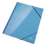 Elastikmappe Leitz Wow A4 blå
