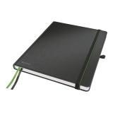Notesbog Leitz iPad-size linjeret sort