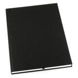 Notesbog GRIEG Design indb. A4 100g ulinj. sort