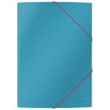 Leitz Cosy karton 3-klap mappe  Blå