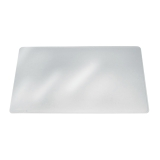 Kirjoitusalusta Durable 65X50 cm, läpinäkyvä